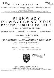 Polish census of 1921