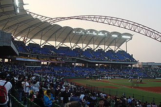 Chinese Professional Baseball League - Taichung Intercontinental Stadium.