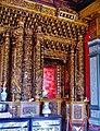 Taipeh Guandu Temple Haupthalle Innen 07.jpg