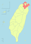 Taiwan ROC political division map New Taipei City.svg