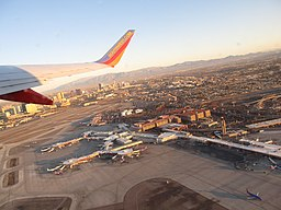 Takeoff from Las Vegas, Flight Between Las Vegas, Nevada and Orange County, California (6575706233)