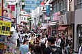 Takeshita Dori Ave 5 30 weekend after state of emergency lifted in Tokyo (49952810167).jpg