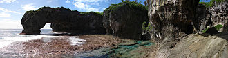 Geography of Niue - Talava arches, Niue