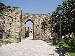 Amrus ibn Yusuf - Walls of the ancient Andalusi Qaṣbah of Talavera de la Reina.