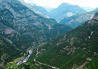 Cem (river) River in Montenegro and Albania