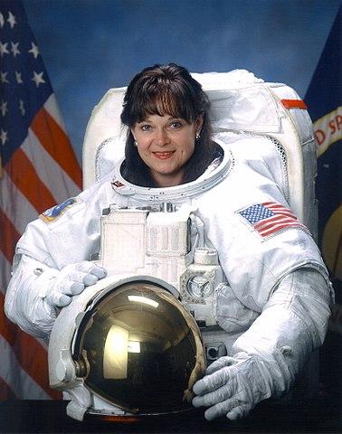 Astronaut Tammy Jernigan, NASA photo circa 1999 Source: Wikipedia www.jsc.nasa.gov page unavailable May 2019) 378px-Tamara_E._Jernigan.jpg