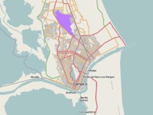 Tampico metropolitan area - Image: Tampico metroarea