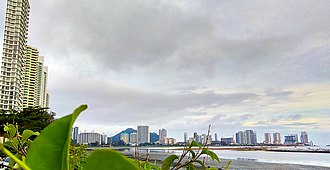 Tanjung Tokong - Skyline of Tanjung Tokong as seen from Gurney Drive in George Town proper