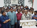 Tapan Kumar Ganguly Delivers Speech - Maritime Centre Inauguration - Science City - Kolkata 2003-10-17 00448.JPG