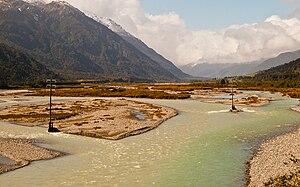 Taramakau River - Taramakau River Valley