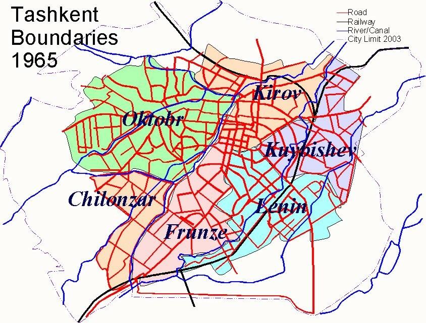 Tashkent History 1965