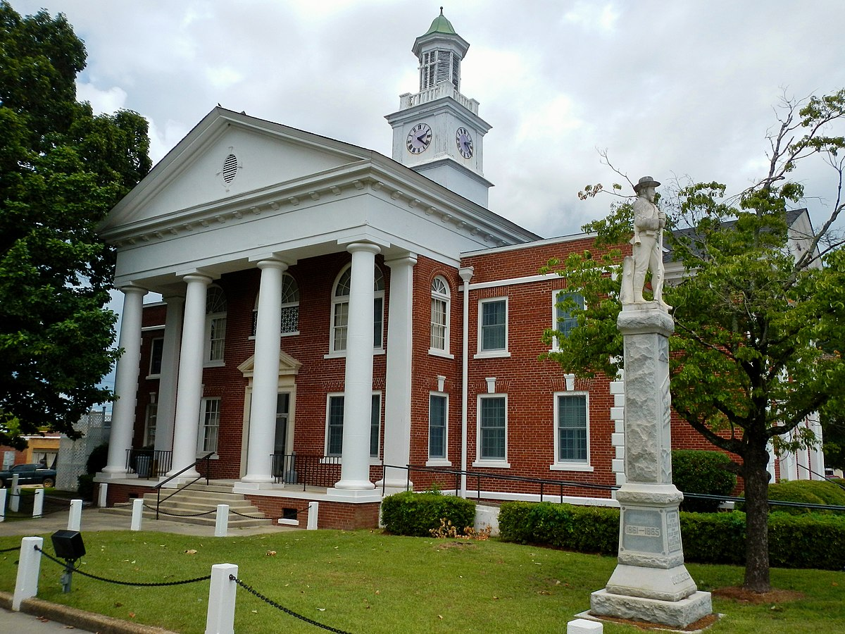 Px Taylor County C Ga Courthouse