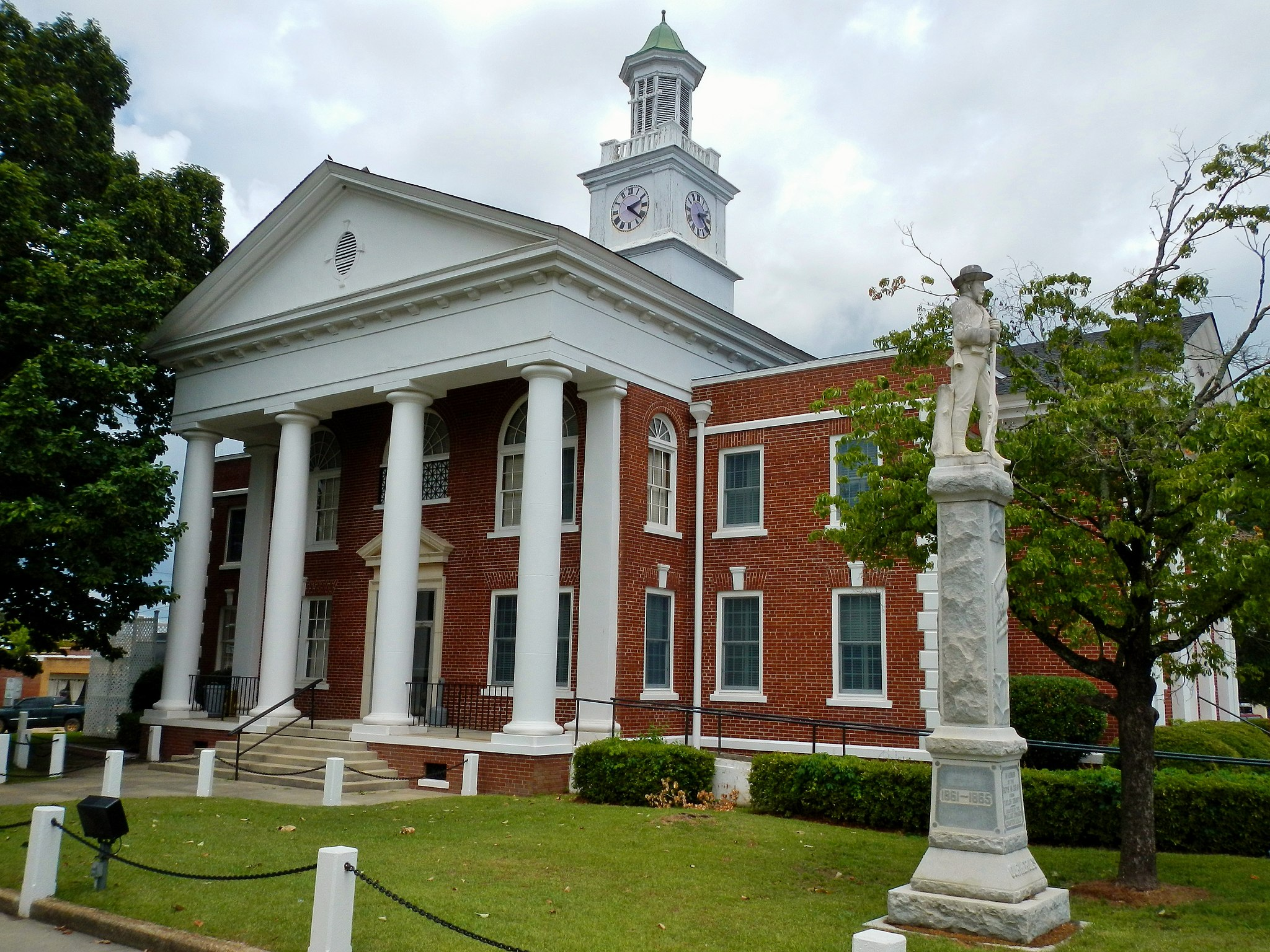 Taylor County, GA Courthouse