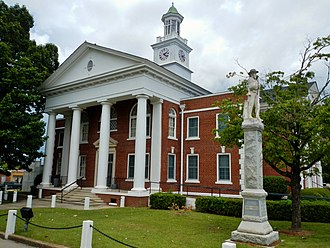 Taylor County, Georgia - Image: Taylor County, GA Courthouse