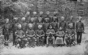 Gulangyu - The Sikh police force