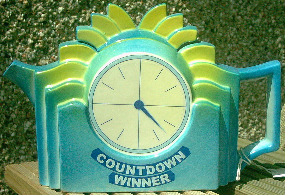 The Teapot prize from the British gameshow 'Countdown'