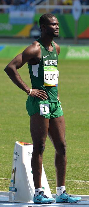 Tega Odele - Odele at the 2016 Olympics
