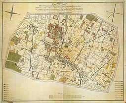 Map of Tehran in 1857 Tehran1857.jpg