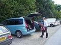 Teign Valley Golf Club , Car Park - geograph.org.uk - 1124006.jpg