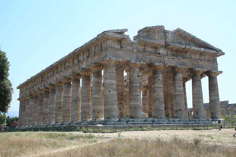 Soubor:Temple of Poseidon - Paestum - Italy.JPG