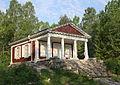 Templet, Kulturreservatet Sommarro, Örebro. återuppbyggt år 2014.JPG