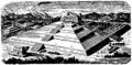 Teocalli vid Cholula, Nordisk familjebok bd 4.png
