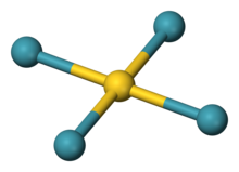 tetraxenongold ball model