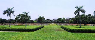 Thanbyuzayat War Cemetery war cemetery in Myanmar