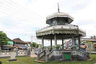 Thanbyuzayat Town in Mon State, Myanmar