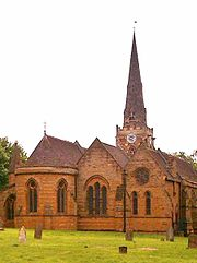 The Holy Sepulchre, the oldest building in Northampton