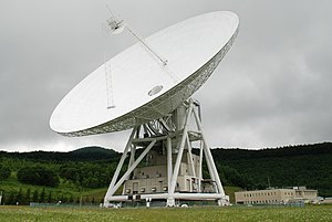 Usuda Deep Space Center - The 64 meter antenna at the Usuda Deep Space Complex