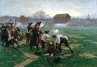 Battles of Lexington and Concord start of the American Revolutionary War