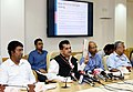 The CEO, NITI Aayog, Shri Amitabh Kant releasing the First Delta Ranking of the Aspirational Districts Programme, at a press conference, in New Delhi on June 29, 2018.JPG
