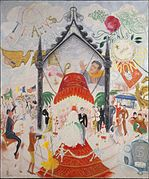 1931 oil painting by Florine Stettheimer