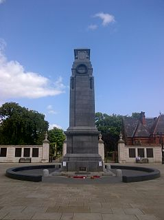 The Cenotaph, Middlesbrough grade II listed war memorial in Middlesbrough, United kingdom