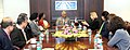 The Director, US Trade Development Agency, Ms. L.I. Zak meeting the Union Minister for Civil Aviation, Shri Ashok Gajapathi Raju Pusapati, in New Delhi on February 09, 2016 (1).jpg