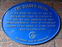 The golden cross   14 princess street shrewsbury sy1 1lp
