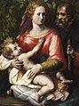 The Holy Family with the Laurel Hedge by Girolamo Siciolante da Sermoneta.jpg