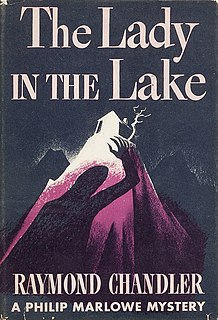 <i>The Lady in the Lake</i> novel by Raymond Chandler