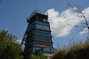 Chatterley Whitfield - The Platt shaft and headgear