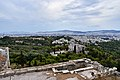 The Pnyx and the Areopagus from the Acropolis on July 16, 2019.jpg