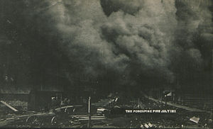 Great Porcupine Fire of 1911
