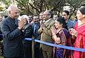 The President, Shri Ram Nath Kovind hosting 'At Home' reception, at Rashtrapati Nilayam, Bolarum, Secunderabad on December 26, 2017 (1).jpg