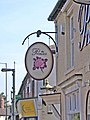 The Princess pub sign, 115-117 Bridgnorth Road, Wollaston - geograph.org.uk - 988085.jpg