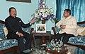 The Secretary, Ministry of Information and Broadcasting, Shri Uday Kumar Varma calling on the Chief Minister of Mizoram, Shri Lal Thanhawla, at Aizawl on January 26, 2013.jpg