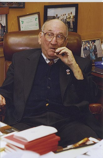 Tom Murphy (Georgia politician) - Image: The Speaker enjoying a cigar in his famous office 2013 09 06 18 10