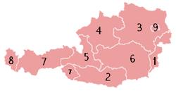 המדינות של אוסטריה