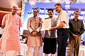 The Union Minister for Railways and Coal, Shri Piyush Goyal presenting the awards, at the closing ceremony of the 63rd Rail Week National Award function, in Bhopal, Madhya Pradesh (1).JPG
