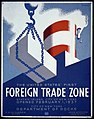 The United States' first foreign trade zone, Staten Island, city of New York, opened February 1, 1937 LCCN96525135.jpg