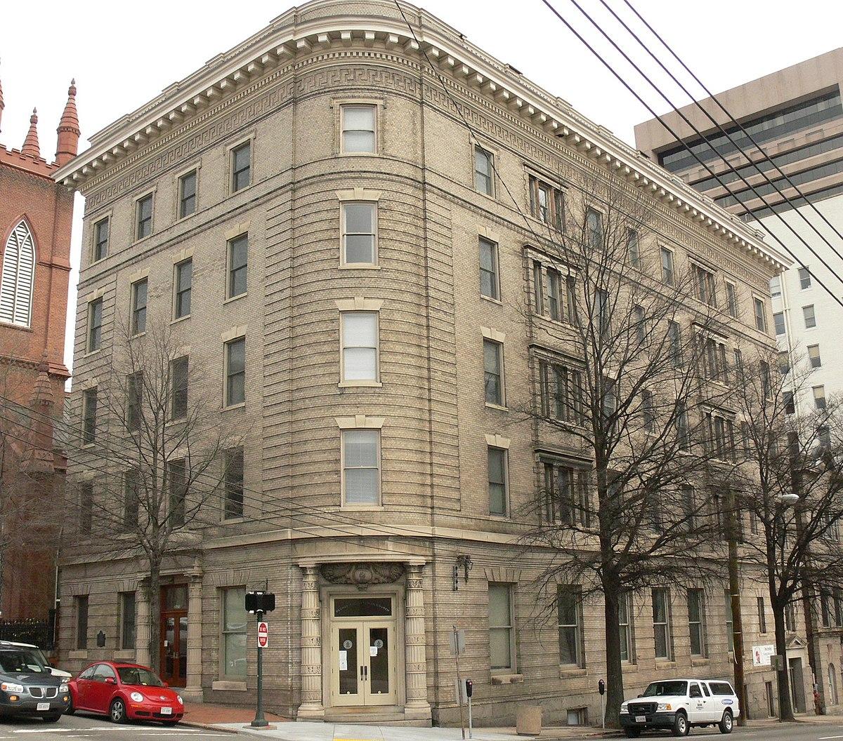 Historic Buildings In Richmond Va: The Virginia